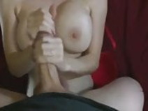 18YO Babe From xHamster Fuck COM Let me cum on her Tits