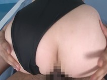 【Cosplay】 Takahashi Syouko, uniform, bloomers, swimwear costume! Fucking large, finish is big tits bukkake! 【Big tits】