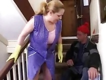 Fuck on stairs