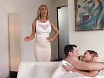 Big Tit Milf Stepmom Fucks Her Son And His Whore